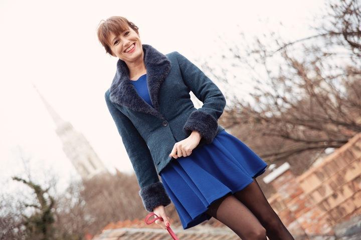 Az én stílusom – A kékruha
